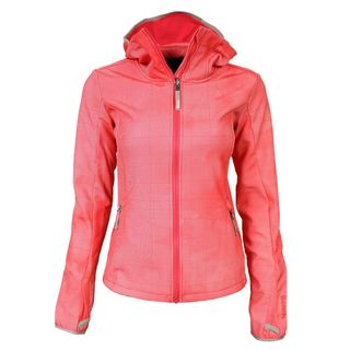 Bench Competence F Softshell Jacket Coral