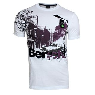 Bench City Car T-Shirt White