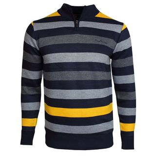Pierre Cardin Stripe 1/2 Zip
